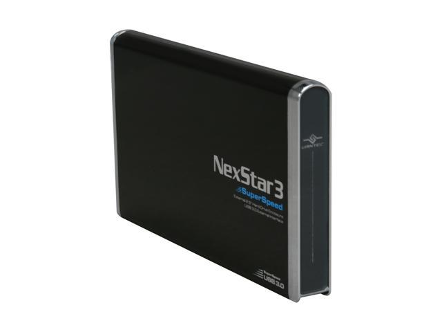 "VANTEC NexStar 3 NST-280S3-BK 2.5"" Black USB 3.0 External Enclosure"