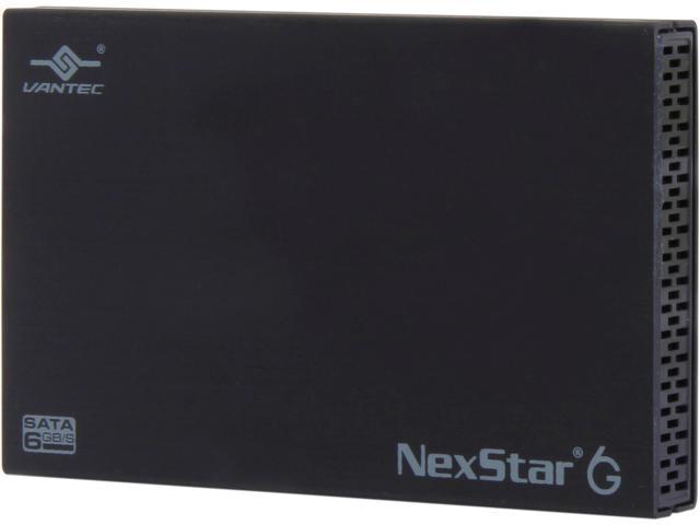 VANTEC NST-266S3-BK 2.5-Inch SATA 6Gb s to USB 3.0 HDD SSD Aluminum  Enclosure e0552443791e4