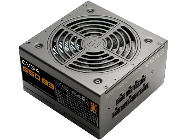 EVGA 550 B3, 80 Plus BRONZE 550W, Fully Modular, EVGA ECO Mode, Compact 150mm Size, Power Supply 220-B3-0550-V1