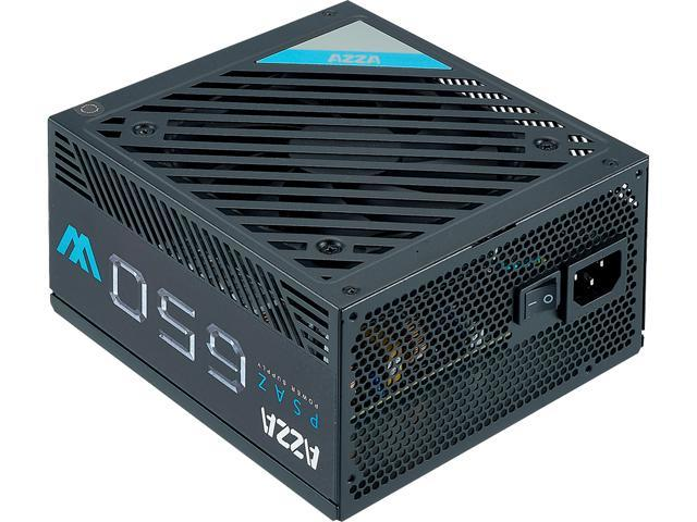 AZZA PSAZ-650W 650W Intel ATX12V 80 PLUS BRONZE Certified Power Supply