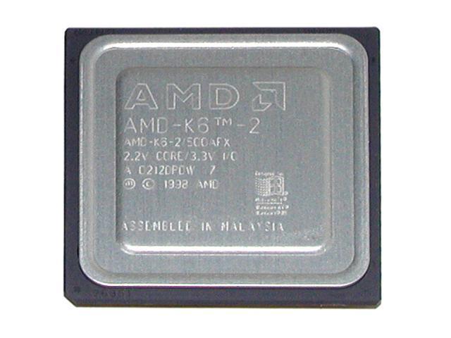 AMD K6-2 Chomper 500 MHz Socke...