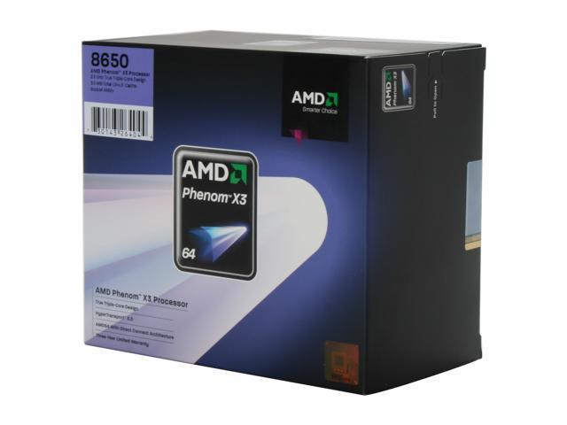 AMD PHENOMTM 8650 TRIPLE-CORE PROCESSOR WINDOWS DRIVER
