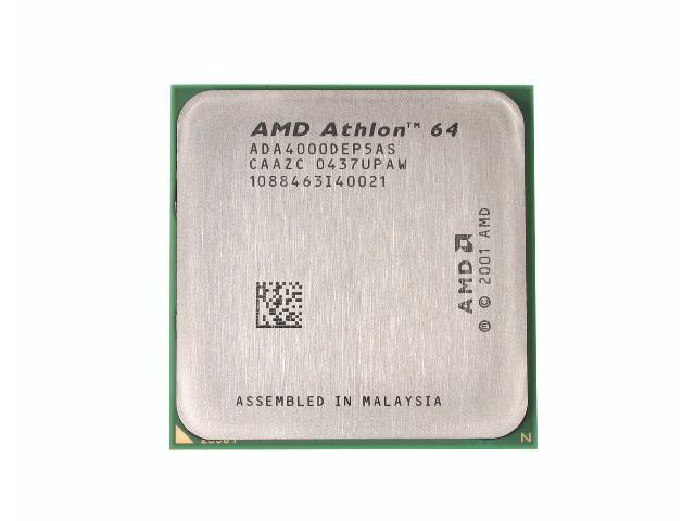 AMD Athlon 64 4000+ ClawHammer 2.4 GHz Socket 939 89W ADA4000DEP5AS Processor