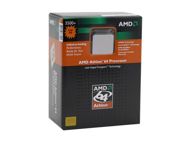 AMD Athlon 64 3500+ ClawHammer Single-Core 2.2 GHz Socket 939 ADA3500ASBOX Processor