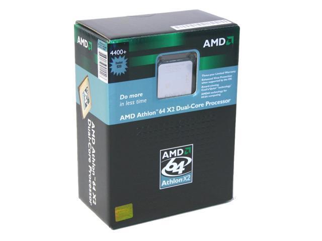 AMD Athlon 64 X2 4400+ Toledo Dual-Core 2 2 GHz Socket 939 ADA4400CDBOX  Processor - Newegg com