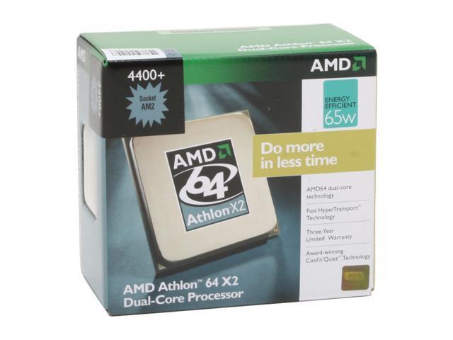 Brisbane 2.3GHz 2 x 512KB L2 Cache Socket AM2 65W Dual-Core Processor AMD Athlon 64 X2 4400