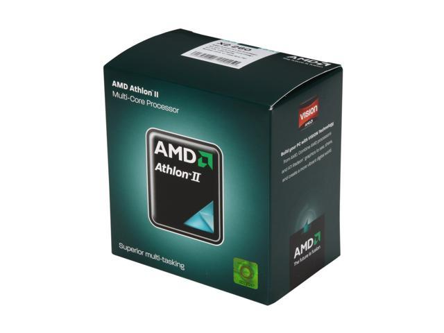 AMD Athlon II X2 260 Regor Dual-Core 3.2 GHz Socket AM3 65W ADX260OCGMBOX Desktop Processor