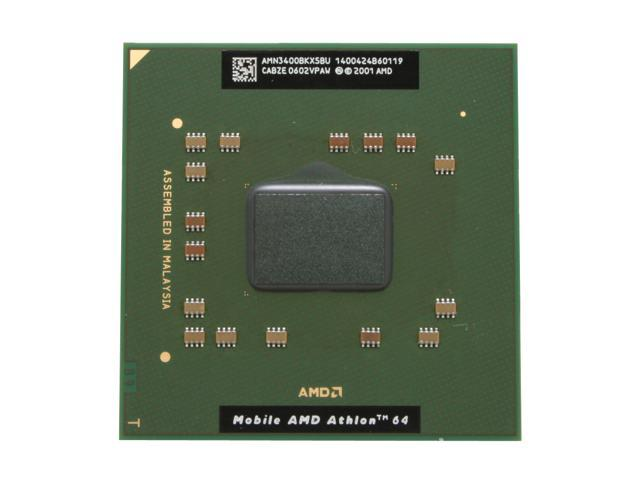 Amd Mobile Athlon 64 3400 Newark 2 2 Ghz 1mb L2 Cache Socket 754 Single Core Amn3400bkx5bu Processor Newegg Com