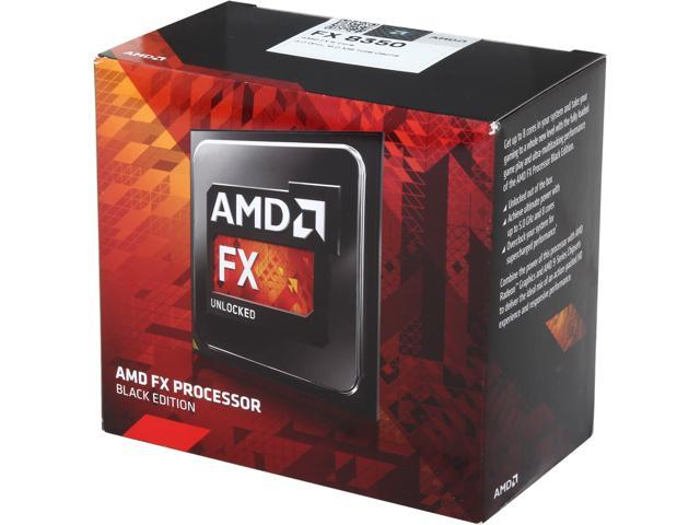 AMD FX-8350 Eight-Core 4GHz AM3 Desktop Processor