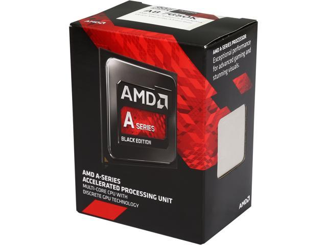 AMD AMD A8 7650K Kaveri Quad-Core 3.3 GHz Socket FM2+ 95W AD765KXBJABOX Desktop Processor Radeon R7 series