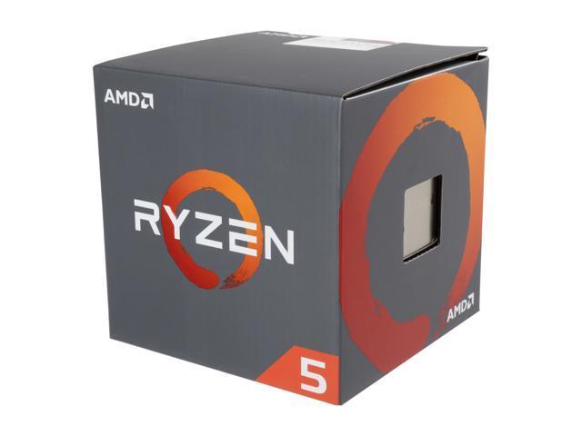 Amd Ryzen 5 1400 4 Core 3.2 G Hz (3.4 G Hz Turbo) Socket Am4 65 W Yd1400 Bbaebox Desktop Processor by Amd