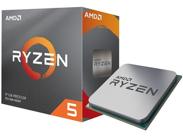 AMD RYZEN 5 3600 6-Core 3.6 GHz (4.2 GHz Max Boost) Socket AM4 65W 100-100000031BOX Desktop Processor