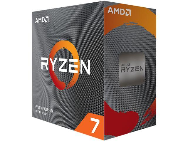 AMD Ryzen 7 3800XT 8-Core 3.9 GHz Socket AM4 105W 100-100000279WOF Desktop Processor