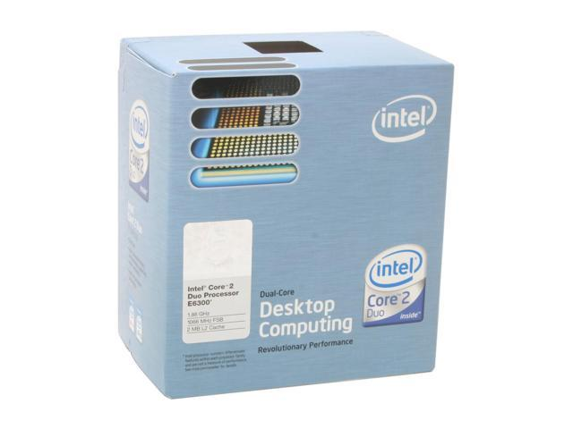 DOWNLOAD DRIVERS: INTEL E6300 CHIPSET