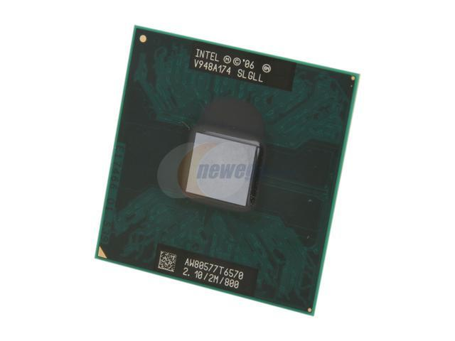 Intel Core 2 Duo T7500 SLA44 SLAF8 2.2 GHZ 4MB 800MHZ Socket P Mobile Processor