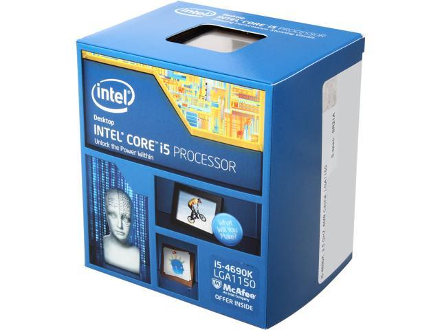 Intel Core i5-4690K Devil's Canyon Quad-Core 3.5 GHz LGA 1150 88W BX80646I54690K Desktop Processor Intel HD Graphics 4600