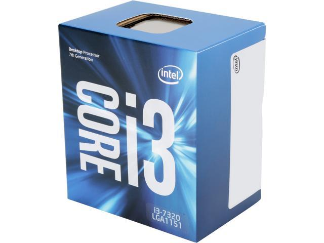 Intel Core i3-7320 Kaby Lake Dual-Core 4.1 GHz LGA 1151 51W BX80677I37320 Desktop Processor Intel HD Graphics 630