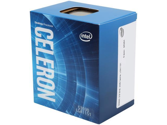 Intel Celeron G3930 Kaby Lake Dual-Core 2.9 GHz LGA 1151 51W BX80677G3930 Desktop Processor Intel HD Graphics 610
