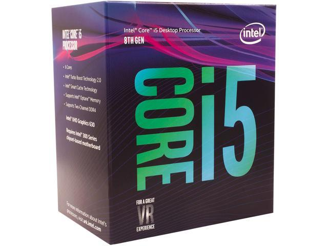 Intel Core i5-8500 Coffee Lake 6-Core 3.0 GHz (4.1 GHz Turbo) LGA 1151 (300 Series) 65W BX80684I58500 Desktop Processor Intel UHD Graphics 630