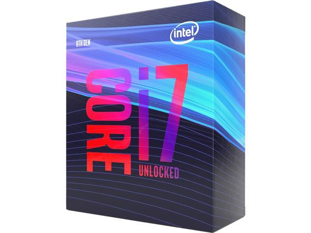 Intel Core i7-9700K Coffee Lake 8-Core 3 6 GHz (4 9 GHz Turbo) LGA 1151  (300 Series) 95W BX80684I79700K Desktop Processor Intel UHD Graphics 630 -