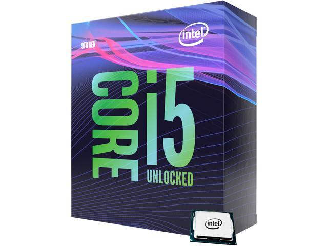 Intel Core i5-9600K Coffee Lake 6-Core 3.7 GHz (4.6 GHz Turbo) LGA 1151 (300 Series) 95W BX80684I59600K Desktop Processor Intel UHD Graphics 630