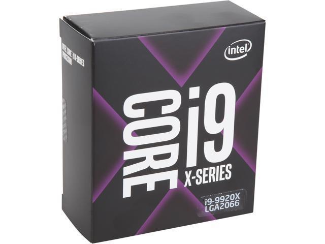 Intel Core i9-9920X Skylake X 12-Core 3 5 GHz (4 4 GHz Turbo) LGA 2066 165W  BX80673I99920X Desktop Processor - Newegg com