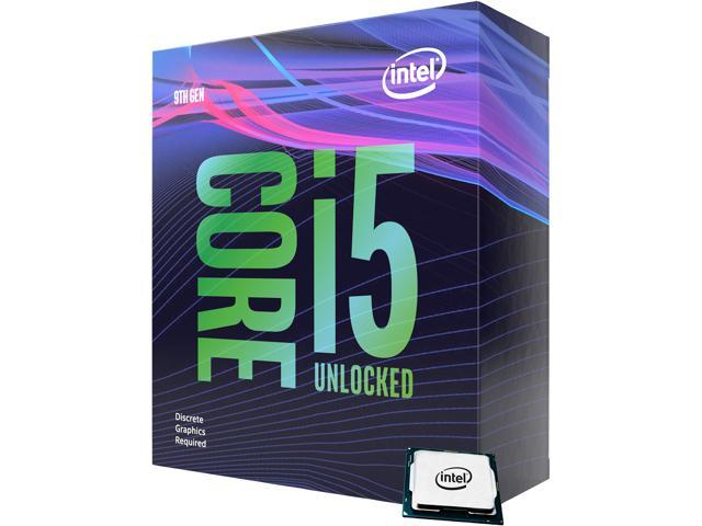 Intel Core i5-9600KF Coffee Lake 6-Core 3.7 GHz (4.6 GHz Turbo) LGA 1151 (300 Series) 95W BX80684I59600KF Desktop Processor Without Graphics