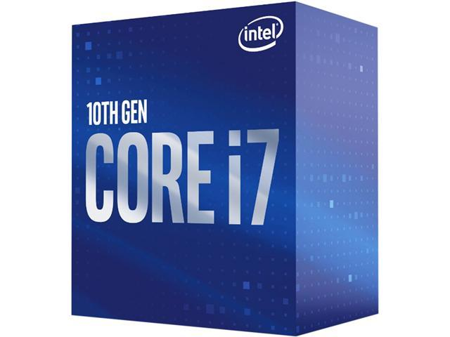 Intel Core i7-10700 Comet Lake 8-Core 2.9 GHz LGA 1200 65W BX8070110700 Desktop Processor Intel UHD Graphics 630