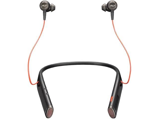 44a008e026f Plantronics Voyager 6200 UC Business-ready Bluetooth neckband headset with  earbuds, Black (208748-01