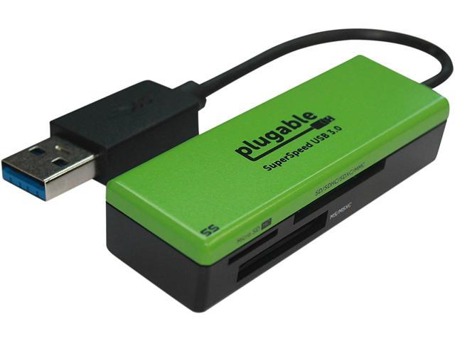 Plugable USB 30 Flash Memory Card Reader For MicroSD SD MMC MS USB3