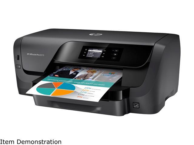 HP OfficeJet Pro 8210 Wireless Printer with Mobile Printing, Instant Ink  ready (D9L64A#B1H) - Newegg com