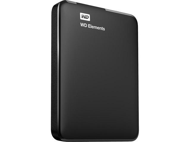 WD 2TB Elements Portable Hard Drive USB 3.0 Model WDBU6Y0020BBK-WESN Black