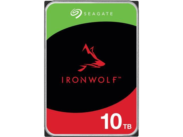 "Seagate IronWolf ST10000VN0008 10TB 7200 RPM 256MB Cache SATA 6.0Gb/s 3.5"" Hard Drives"