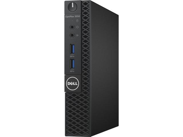 DELL Desktop Computer OptiPlex 3050 (CFC5C) Intel Core i5 7th Gen 7500T (2.70 GHz) 8 GB DDR4 256 GB SSD Intel HD Graphics 630 Windows 10 Pro 64-Bit