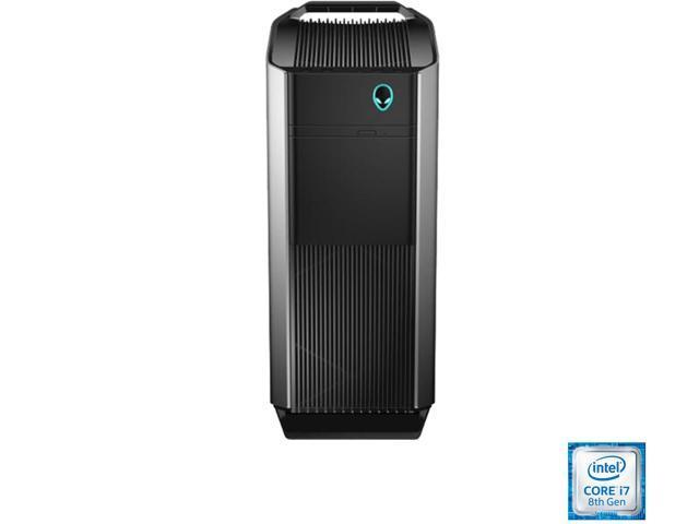 DELL Gaming Desktop Alienware Aurora R7 AWAUR7-7019SLV Intel Core i7 8th Gen 8700 (3.20 GHz) 16 GB DDR4 1 TB HDD 256 GB SSD NVIDIA GeForce GTX 1070 Windows 10 Home 64-Bit