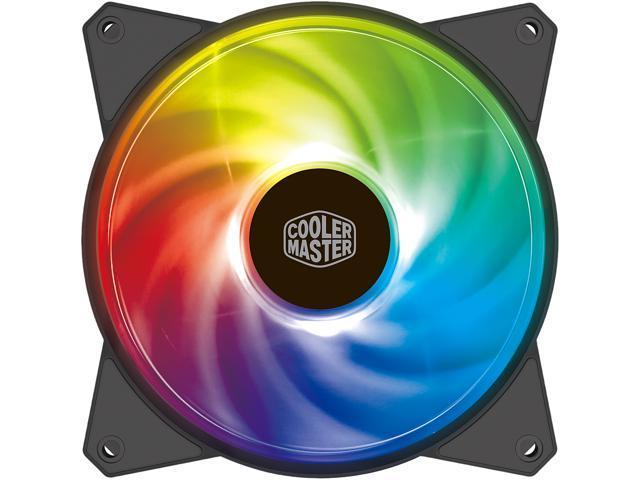 Cooler Master MasterFan MF120R ARGB 120 mm Addressable ARGB Fan   R4-120R-20PC-R1  - Newegg com