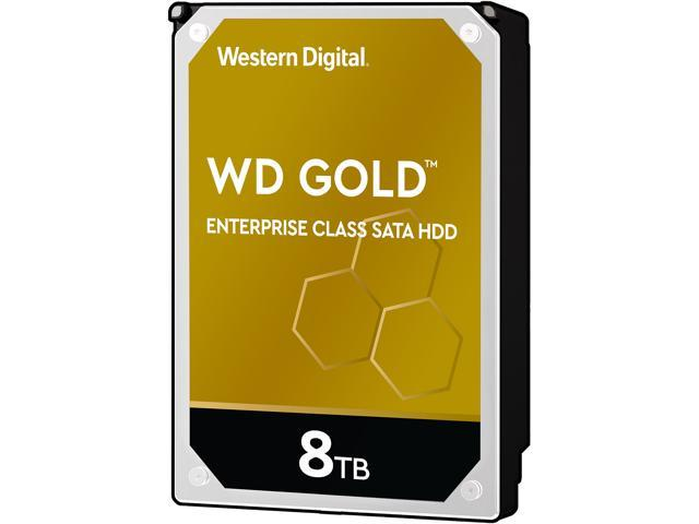 "WD Gold DC HA750 WD8004FRYZ 8 TB Hard Drive - 3.5"" Internal - SATA (SATA/600)"