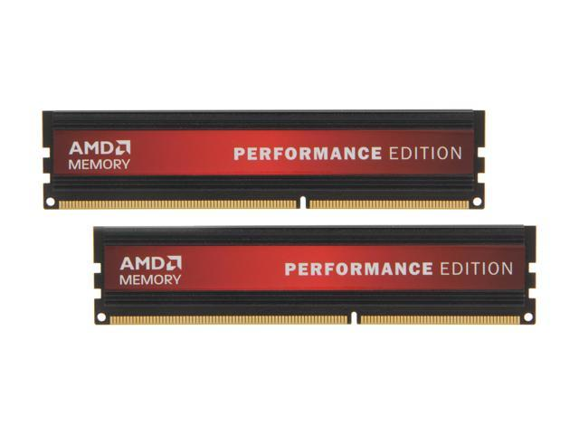 AMD Performance Edition 8GB (2 x 4GB) 240-Pin DDR3 SDRAM DDR3 1333 Desktop Memory Model AP38G1338U2K
