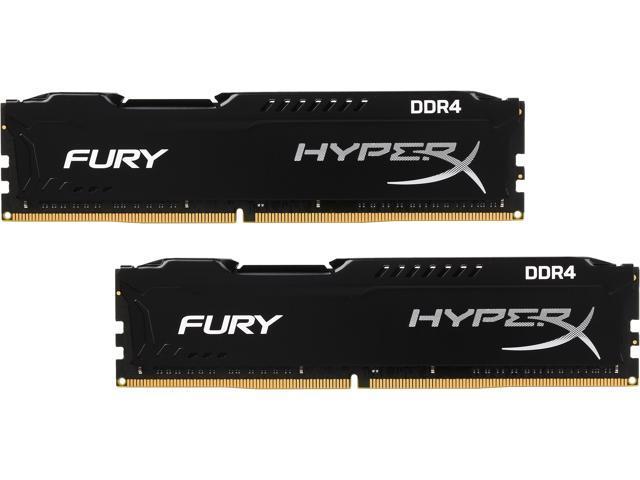Hyperx fury 8gb ddr4 2400