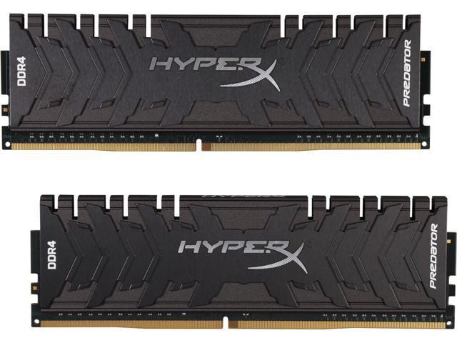HyperX Predator 16GB (2 x 8GB) DDR4 3200 RAM (Desktop Memory) CL16 XMP  Black DIMM (288-Pin) HX432C16PB3K2/16 - Newegg com