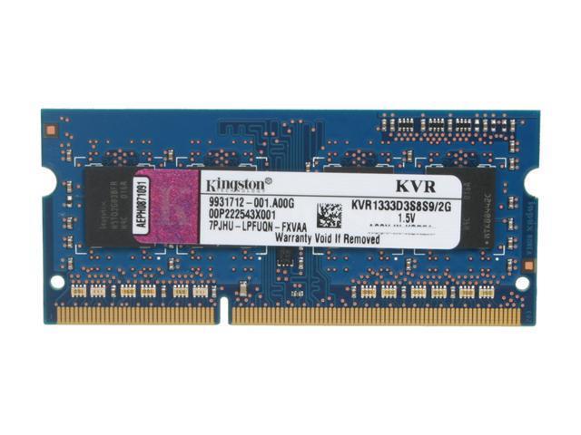 Kingston DDR3 2 GB Laptop RAM KVR1333D3S8S9//2G