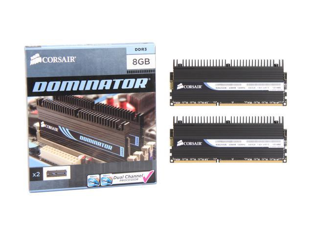 CORSAIR DOMINATOR 8GB (2 x 4GB) 240-Pin DDR3 SDRAM DDR3 1333 Desktop Memory Model CMP8GX3M2B1333C9