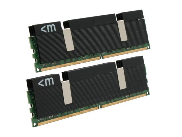 Mushkin Enhanced Blackline 4GB (2 x 2GB) 240-Pin DDR2 SDRAM DDR2 1066 (PC2 8500) Dual Channel Kit Desktop Memory Model 996619