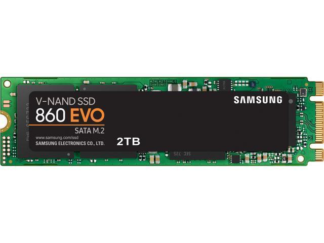 SAMSUNG 860 EVO Series M 2 2280 2TB SATA III 3D NAND Internal Solid State  Drive (SSD) MZ-N6E2T0BW - Newegg com