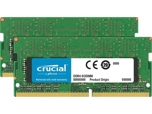 Crucial 16gb Kit 2 X 8gb Ddr4 2400 Sodimm Memory For Mac Newegg Com