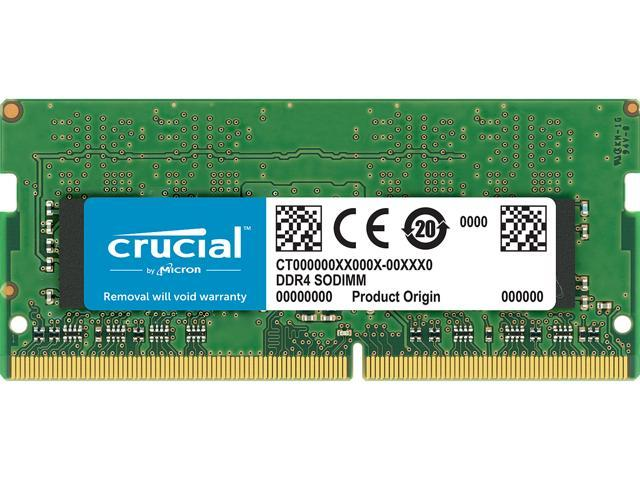 Crucial 16GB 260-Pin DDR4 SO-DIMM DDR4 2666 (PC4 21300) Laptop Memory Model CT16G4SFRA266
