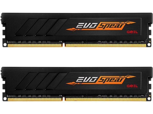 GeIL EVO رمح من GB 16 (2 x 8GB) DDR4 288-دبوس ذاكرة DDR4 3000 (PC4 24000) GSB416GB3000C16ADC طراز ذاكرة الكمبيوتر المكتبي