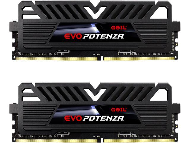 GeIL EVO POTENZA AMD 16GB (2 x 8GB) 288-Pin DDR4 SDRAM DDR4 3000 (PC4 24000) Desktop Memory Model GAPB416GB3000C16ADC