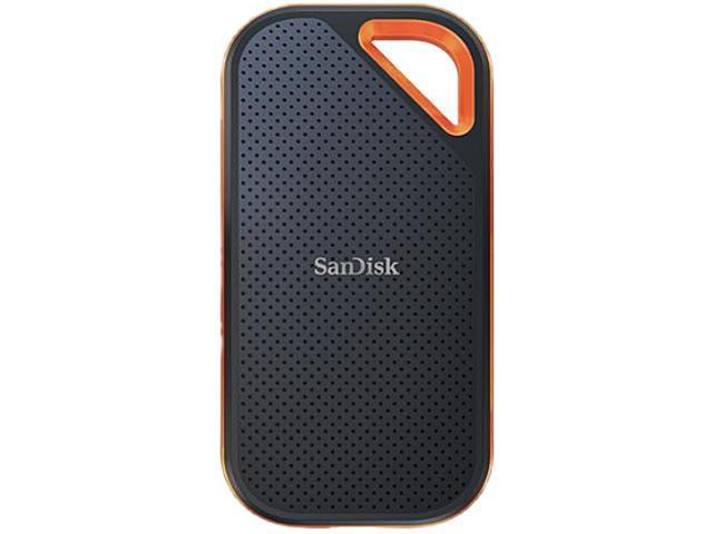 SanDisk 1TB Extreme Pro Portable SSD - Up to 1050 MB/s - USB-C, USB 3.1 - SDSSDE80-1T00-A25