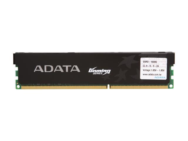 ADATA Gaming Series 2GB 240-Pin DDR3 SDRAM DDR3 1600 (PC3 12800) Desktop  Memory Model AX3U1600GB2G9-1G - Newegg com